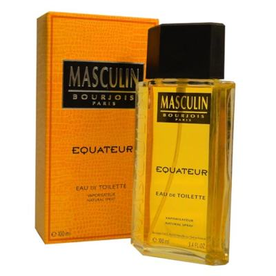 Imagem 1 do produto Masculin Equateur Bourjois - Perfume Masculino - Eau de Toilette - 100ml