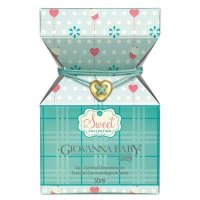 Sweet Collection Candy Giovanna Baby - Perfume Unissex - Deo Colônia - 50ml