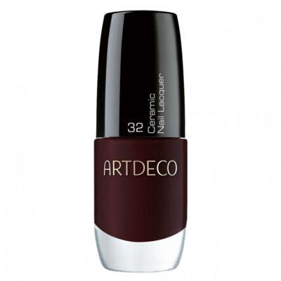 Imagem 1 do produto Ceramic Nail Lacquer Artdeco - Esmalte - 32 - Black Cherry