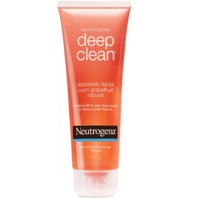 Neutrogena Deep Clean em Gel Grapefruit - 80g