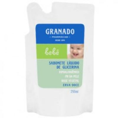 Sabonete Líquido Granado Bebê Erva Doce Refil 250ml