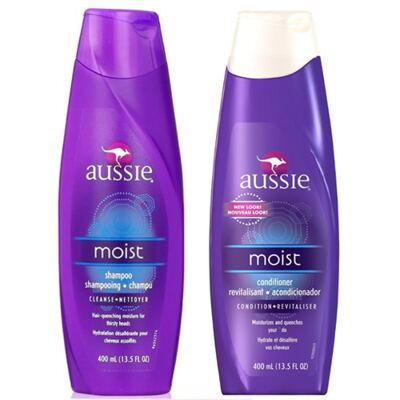 Imagem 1 do produto Kit Aussie Moist Shampoo 400ml + Condicionador 400ml