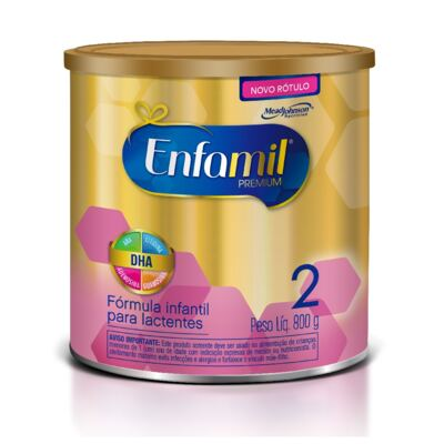 Imagem 1 do produto Fórmula Infantil Enfamil 2 Premium 800g