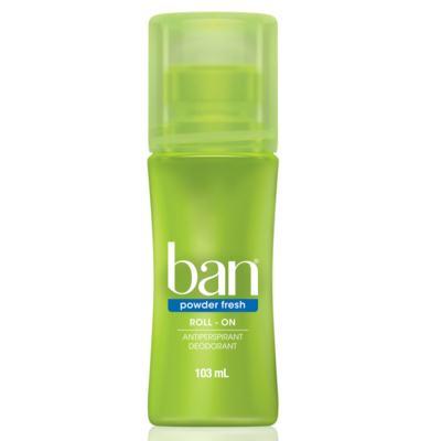 Imagem 1 do produto Desodorante Roll On Ban Powder Fresh 103ml