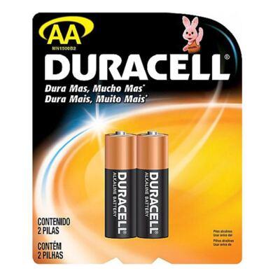 Imagem 1 do produto Pilha Duracell Pequena AA com 2 Unidades