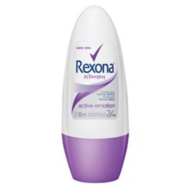 Desodorante Rexona Roll On Active Emotion Feminino 50ml