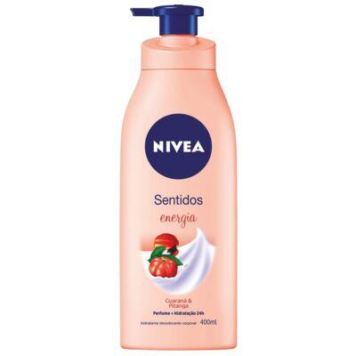 Imagem 1 do produto Hidratante Corporal Nivea Body Sentidos Energia 400ml