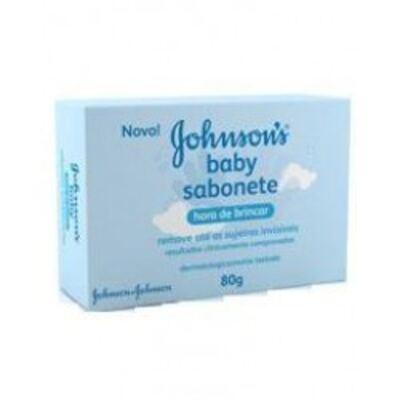 Imagem 1 do produto Sabonete Johnson´s Baby Hora de Brincar Infantil 80g