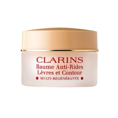 Imagem 1 do produto Baume para Lábios Sensíveis Clarins Baume Anti-Rides Lèvres Et Contour - Incolor