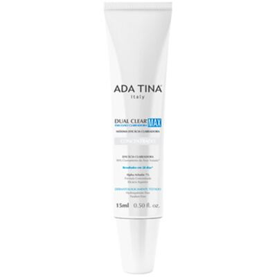 Dual Clear Max Ada Tina - Emulsão Clareadora Facial - 15ml