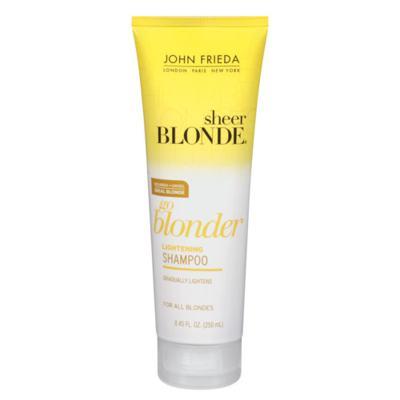 Imagem 1 do produto John Frieda Sheer Blonde Go Blonder Lightening - Shampoo - 250ml