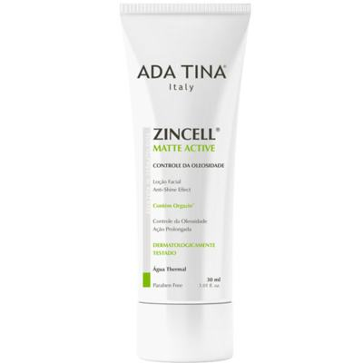 Imagem 1 do produto Zincell Matte Active Ada Tina - Tratamento Antioleosidade - 30ml