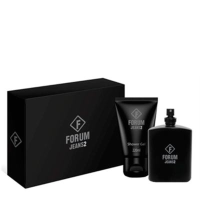 Imagem 1 do produto Jeans2 Forum - Masculino - Eau de Cologne - Perfume + Gel de Banho - Kit