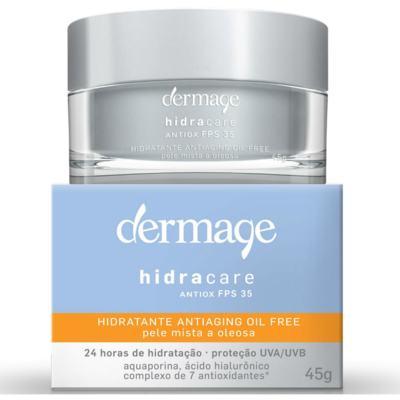 Hidratante Facial Dermage Hidracare Antiox FPS 35 Oil Free 45g