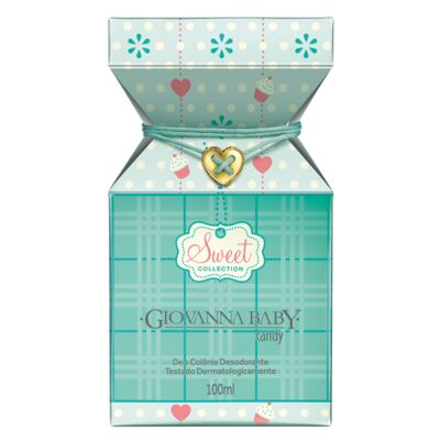 Sweet Collection Candy Giovanna Baby - Perfume Unissex - Deo Colônia - 100ml