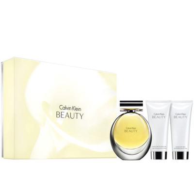 Imagem 1 do produto Ck Beauty Calvin Klein - Feminino - Eau de Parfum - Perfume + Loção Corporal + Gel de Banho - Kit
