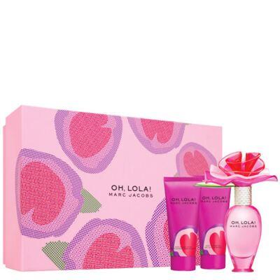 Imagem 1 do produto Oh Lola Coffrret Marc Jacobs - Feminino - Eau de Parfum - Perfume + Loção Corporal + Gel de Banho - Kit