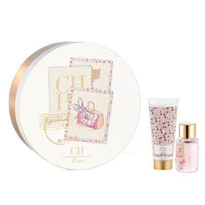 Imagem 1 do produto Ch L'eau Carolina Herrera - Feminino - Eau de Toilette - Perfume + Loção Corporal - Kit
