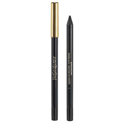 Imagem 1 do produto Dessin Du Regard Waterproof Yves Saint Laurent - Lápis para Olhos - 01 - Black Ink