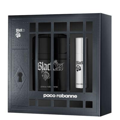 Imagem 1 do produto Black XS Paco Rabanne - Masculino - Eau de Toilette - Perfume + Miniatura - Kit
