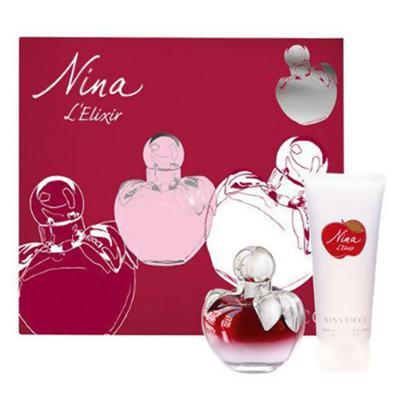 Imagem 1 do produto Nina L'Elixir Nina Ricci - Feminino - Eau de Parfum - Perfume + Loção Corporal - Kit