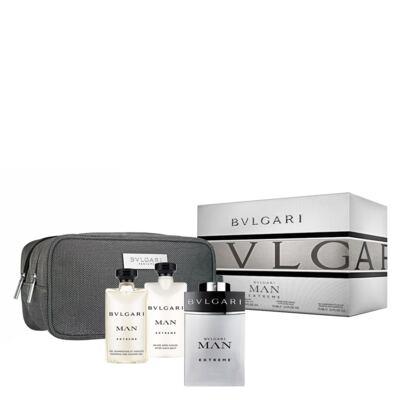 Imagem 1 do produto BVLGARI Pour Homme Extreme BVLGARI - Masculino - Eau de Toilette - Perfume + Shampoo + Loção Pós Barba + Nécessaire - Kit