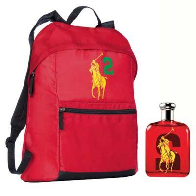 Imagem 1 do produto Polo Big Pony 2 Ralph Lauren - Masculino - Eau de Toilette - Perfume + Mochila - kit