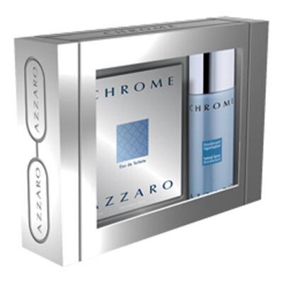Imagem 1 do produto Azzaro Chrome Azzaro - Masculino - Eau de Toilette - Perfume + Desodorante - Kit
