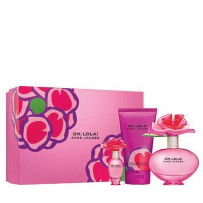 Imagem 1 do produto Oh Lola Marc Jacobs - Feminino - Eau de Parfum - Perfume + Miniatura + Loção Corporal - Kit