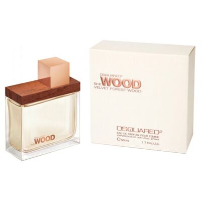 She Wood Velvet Forest Wood Dsquared - Perfume Feminino - Eau de Parfum - 30ml