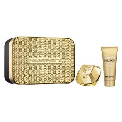 Imagem 1 do produto Lady Million Paco Rabanne - Feminino - Eau de Parfum - Perfume + Loção Corporal - Kit