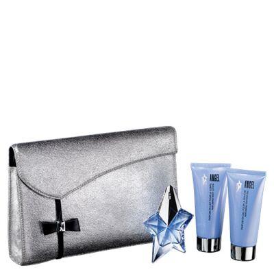 Imagem 1 do produto Angel Mugler - Feminino - Eau de Parfum - Perfume + Loção Corporal + Gel de Banho + Bolsa - Kit