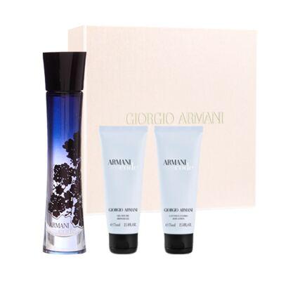 Imagem 1 do produto Armani Code Giorgio Armani - Feminino - Eau de Parfum - Perfume + Loção Perfumada + Gel de Banho - Kit