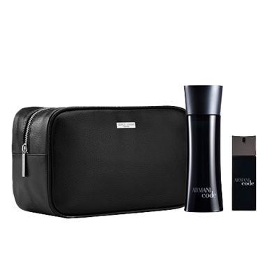 Imagem 1 do produto Armani Code Giorgio Armani - Masculino - Eau de Toilette - Perfume + Edt + Nécessaire - Kit