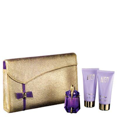 Imagem 1 do produto Alien Mugler - Feminino - Eau de Parfum - Perfume + Gel de Banho + Loção Corporal - Kit