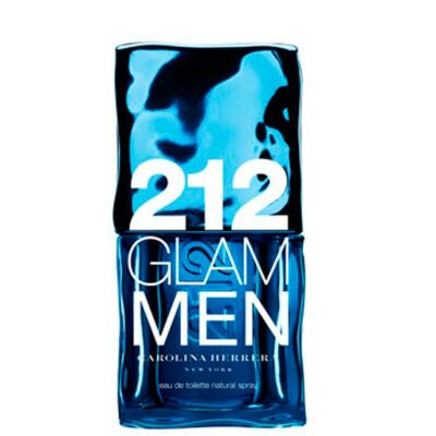 212 Glam Men Carolina Herrera - Perfume Masculino - Eau de Toilette - 100ml