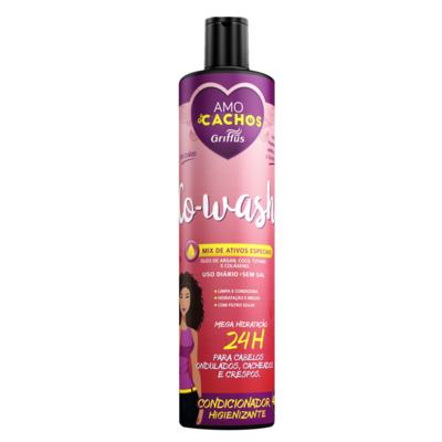Griffus Co-Wash Amo Cachos - Condicionador Higienizante - 400ml