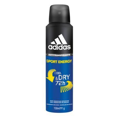 Imagem 1 do produto Sport Energy Aerosol Adidas - Desodorante Masculino - 150ml