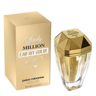 Imagem 2 do produto Lady Million Eau my Gold Paco Rabanne - Perfume Feminino - Eau de Toilette - 80ml