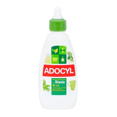 Adoçante Líquido Adocyl Stevia 80ml