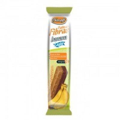 Palito De Fibras Light Biosoft Banana 30g 3 Unidades