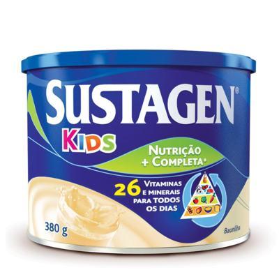 Suplemento Alimentar Sustagen Kids Baunilha 380g