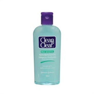 Imagem 3 do produto Adstringente Facial Johnson´s Clean & Clear Pele Sensível 200ml