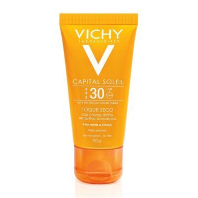 Imagem 2 do produto Protetor Solar Vichy Capital Soleil Toque Seco FPS30 50g