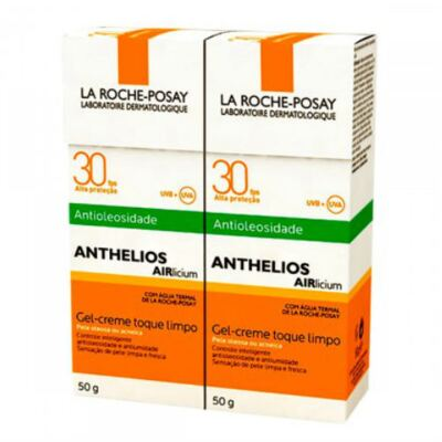 Imagem 3 do produto Protetor Solar La Roche-Posay Anthelios Airlicium FPS 30 50g 2 Unidades