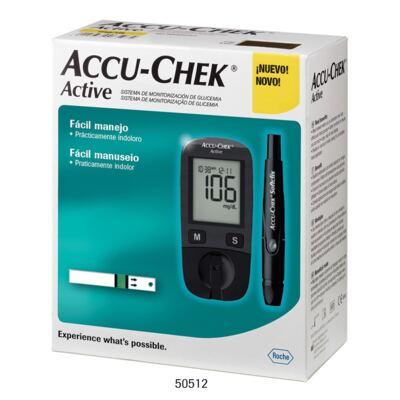 Kit Medidor de Glicose Accu-Chek Active Roche
