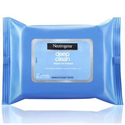 Imagem 3 do produto Neutrogena Loção Removedora De Maquiagem 200ml + Lenço De Limpeza Facial Demaquilante Neutrogena C/7