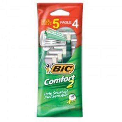 Aparelho de Barbear Bic Comfort2 5 Unidades