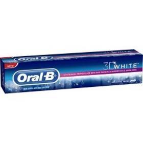 Creme Dental Oral-B 3D White - Brilliant Fresh | 70g