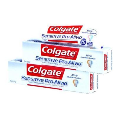 Creme Dental Colgate Sensitive Pró-Alívio 50g 2 Unidades